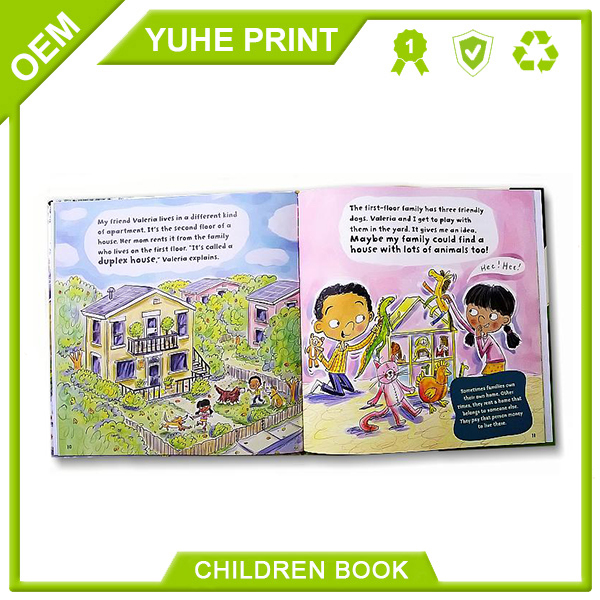 Color printing digtal printing abundant delicate A4 hardcover customized well designed educational children puzzle book