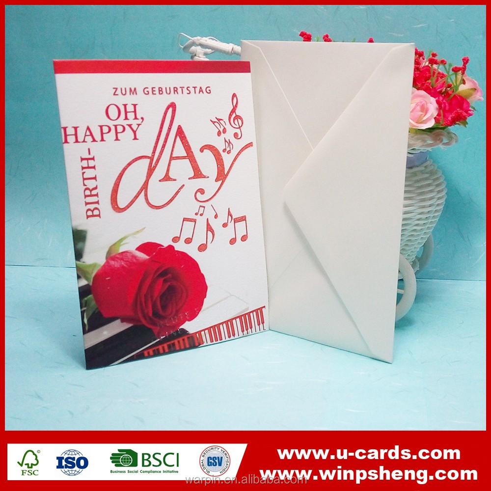Custom Paper Greeting Card Postcards In Spanish Buy Paper Greeting