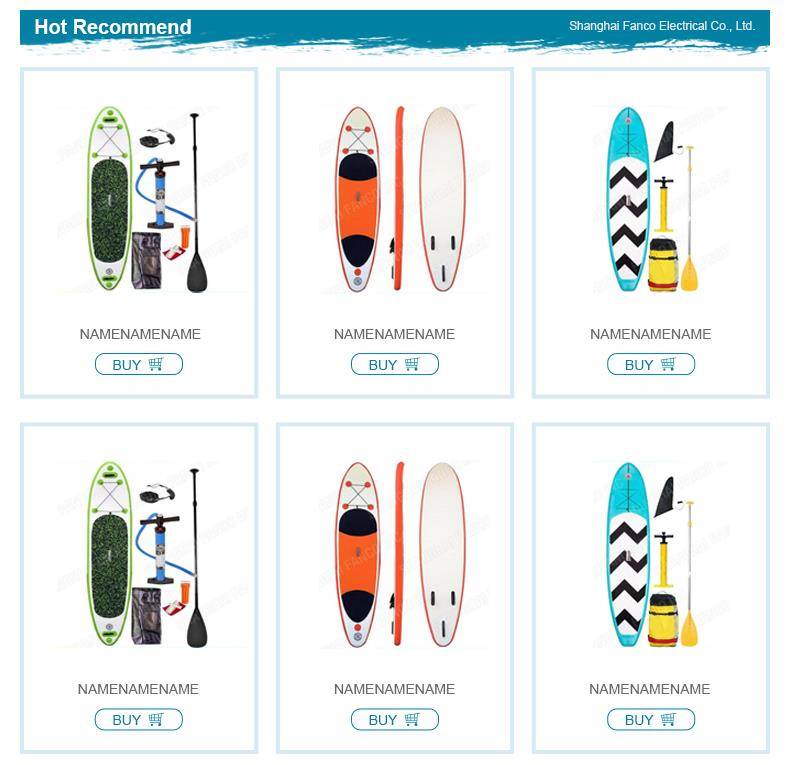 Factory pice surf sup paddle board for wholesale