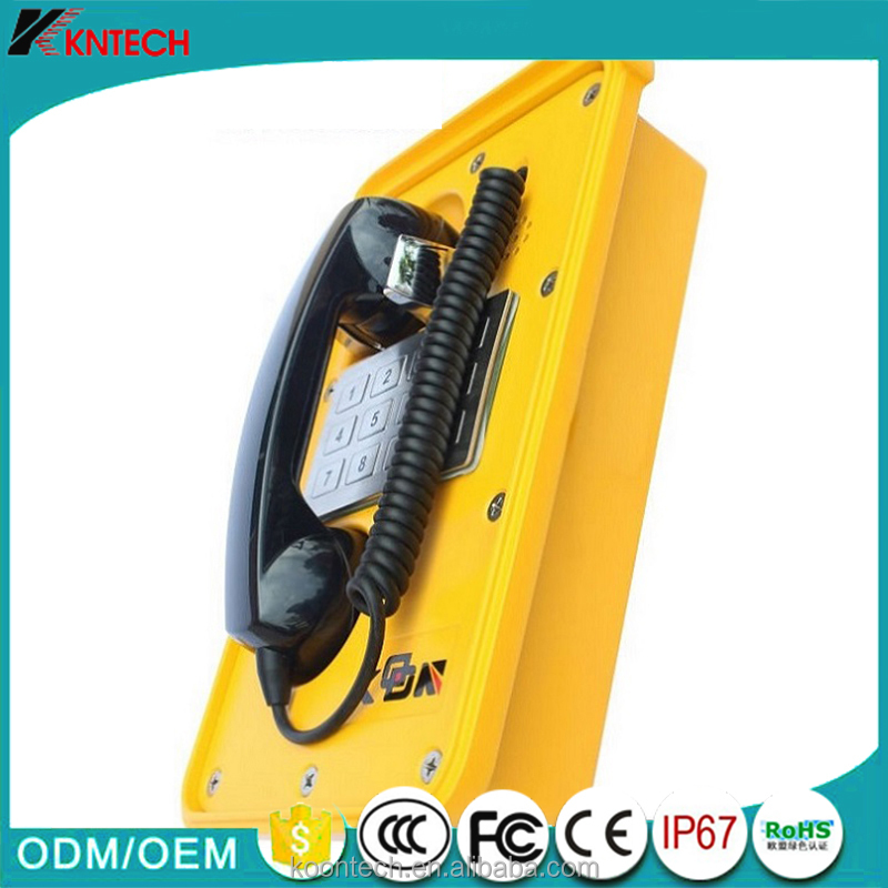Analog industrial gsm coin payphone with remote control