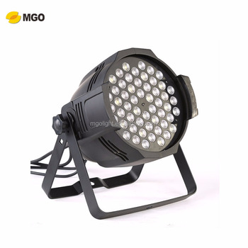 Led 54*3W RGBW Stage Lighting led par stage light