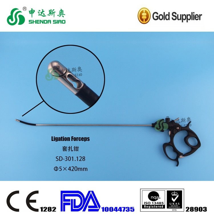Laparoscopic Surgery Instruments Ligation Forceps