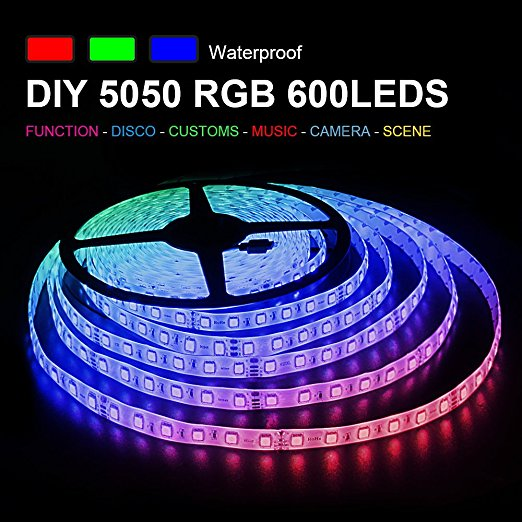 Free sample Cheap smd505 led strips kit 60leds 12v/24v Wifi smart control RGBW led strip light