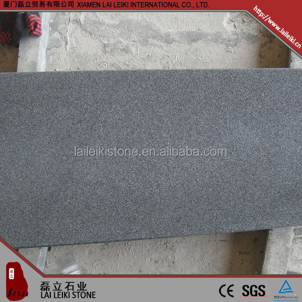 Good quality brands polished G654 3+3 nature stone granite carpet stair nosing