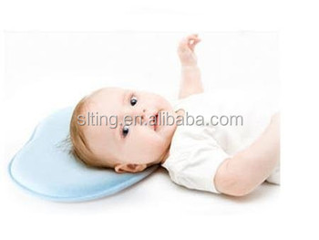 Anti Stiff Neck Durable Baby Head Shaping Pillow With Breathable And