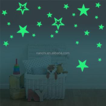 diy creative night star wall sticker decor home children room