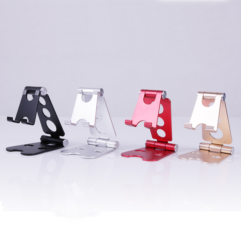 270 Degree Rotating Display Holder Adjustable Mobile Phone Stand Metal Holder Aluminum Cell Phone Holder