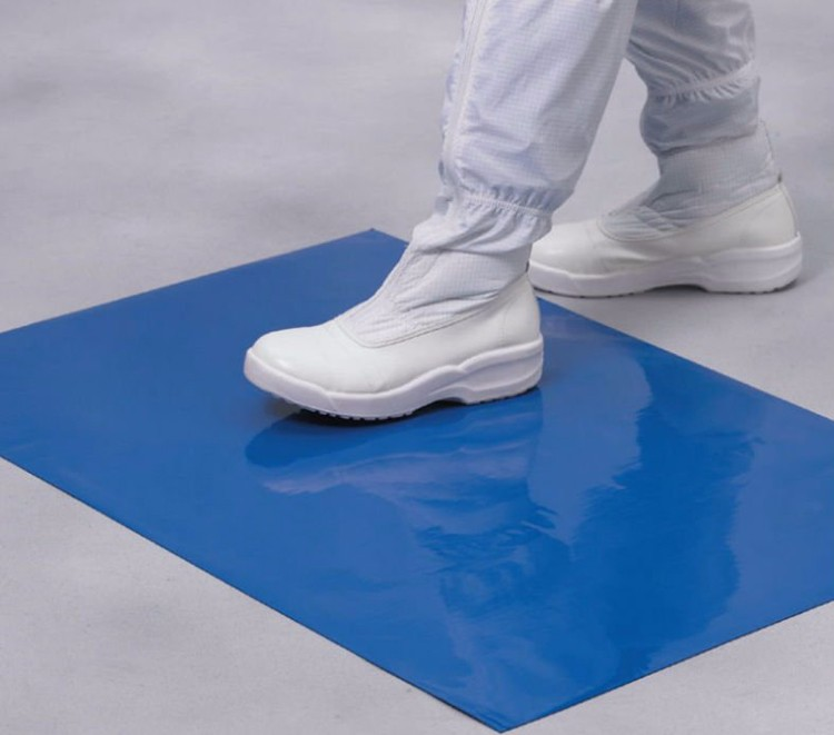 18x45 inch private label cleanroom dust proof sticky floor mat