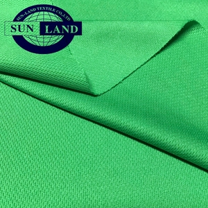 100 polyester mock eyelet mesh fabric for sports tops and shorts