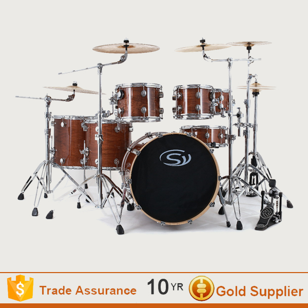 Microphone mini kids jazz drum set