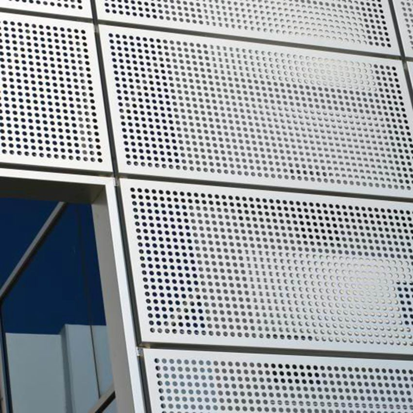 High Quality Decorative Exterior Wall Panels Aluminum Perforated metal Sheets