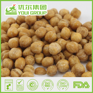 Wholesale Wasabi Flavor Chickpeas For Sale Roasted Mexican Chickpeas 9mm