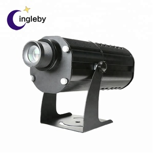 Popular 100w led rotating logo spotlights waterproof outdoor multi color logo projector for advertising