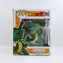 Funko pop 15 см аниме Dragon Ball SHENRON & SHENLONG, ПВХ экшн-фигурка, коллекция модельных игрушек для детей, подарок на день рождения с коробкой(Китай)