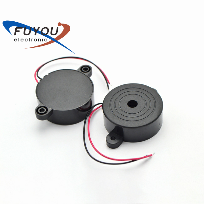 Hot sale 42*16mm 12V 2800HZ 95dB wire type piezo buzzer