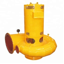 Micro Size Run-of-river Water Powered Tubular Turbine Generator