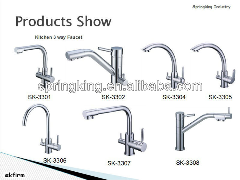 Ro Filtered Water Hot Cold Tap Three Way Taps 3 In