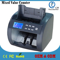 Durable Currency Counting Machine/Money Counter/Bill Counter for U.S Dollar and EURO Counting