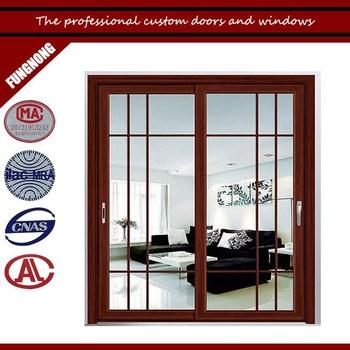 Wood Glass Door Design For Greenhouse Wood Frame Sliding Glass Door ...