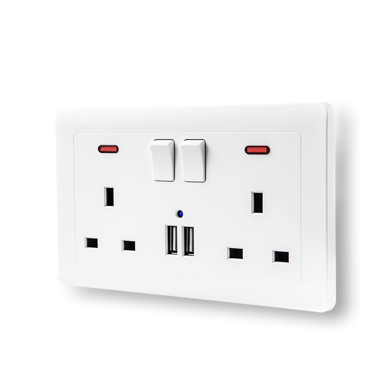 Interruptor de pared eléctrica SOCKET 220 V