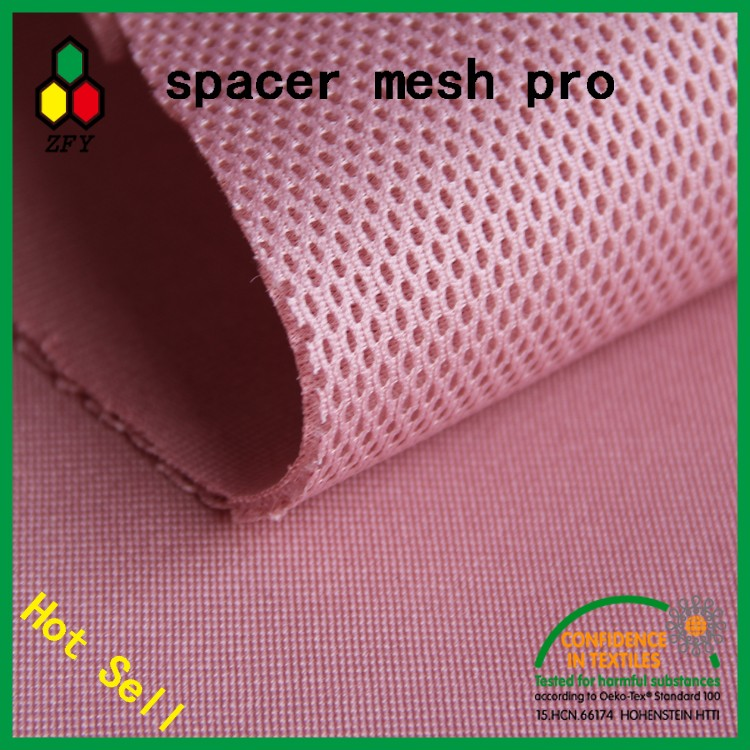 4mm Mesh Fabric,Polyester Elastane Fabric,3d Air Mesh Fabric For ...