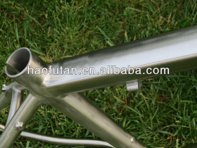 G R9 Titanium 29er Mtb Frame With 44mm Integrated Headtube