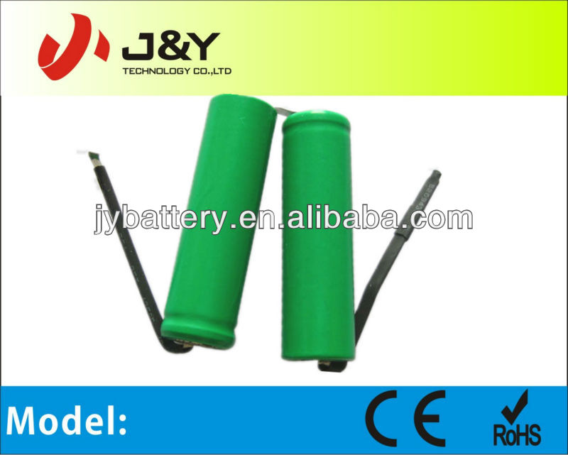 2700mah aa nimh rechargeable battery 7.2V for vacuum cleaner,power tool,RC car,emergency lighting