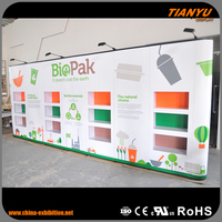 Modern Style Portable Pop Up Free Standing Wall Display