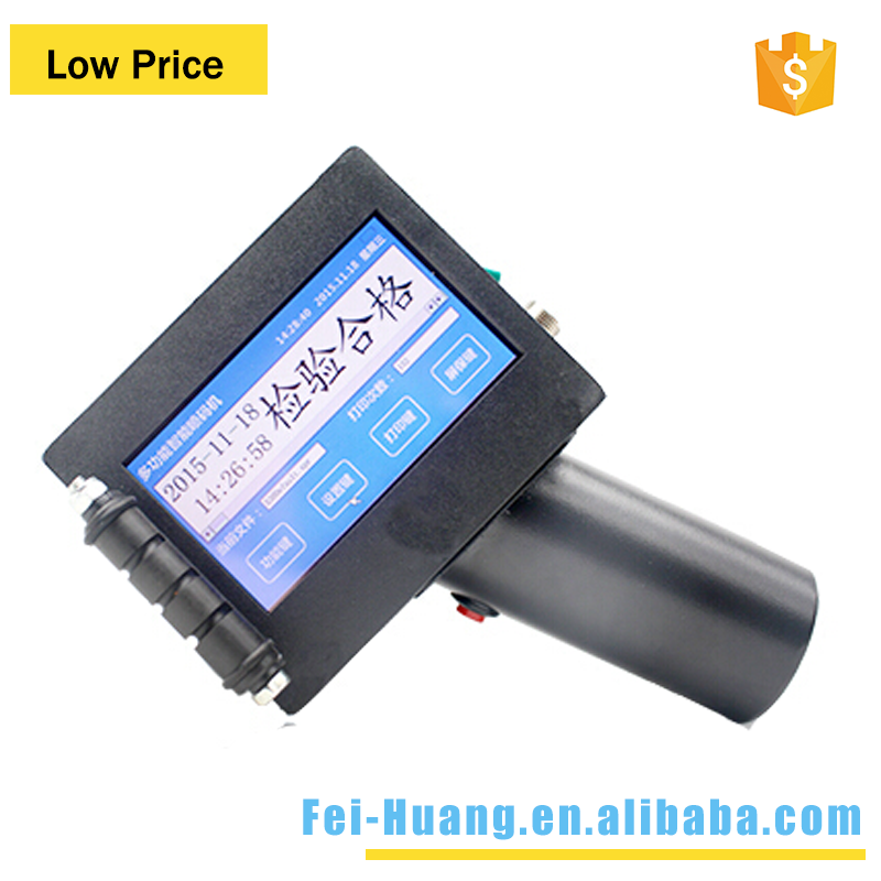 Easily change date print English letter touch screen handheld inkjet printers