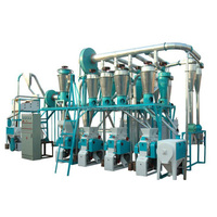 Commercial 10 Ton Per Day Wheat Flour Milling Machine