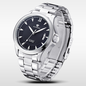 Luxury Watch Dropshipping 30M Water Resistant Stainless Steel Band Automatic Mechanical Movement Wrist Watches