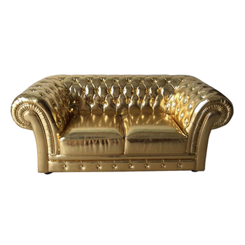 High Quality Leather Home Furniture Chesterfield Sofa Sir William Pu