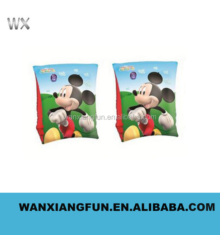 Customized cartoon animal mickey mouse inflatable arm band