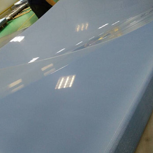 silk screen printing PVC Transparent Flat Sheet for printing use