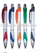 fresh fashion small quantity order factory price low MOQ smooth writing ball pen with custom logo