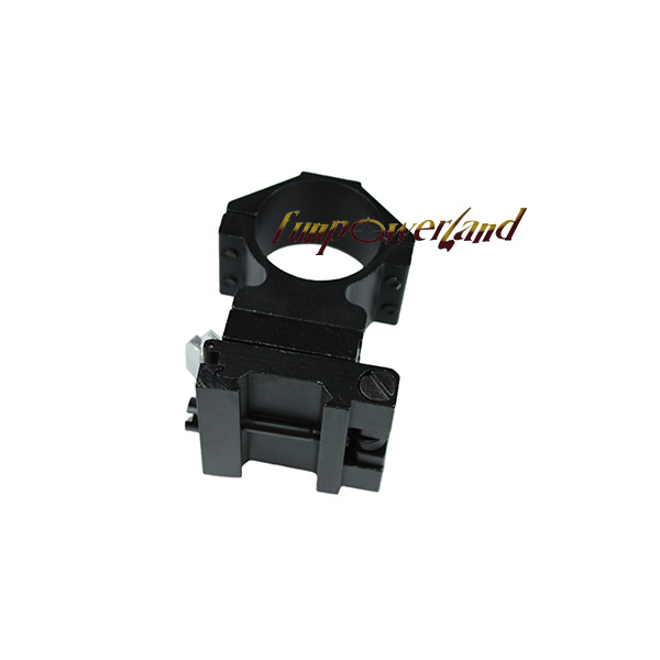 Funpowerland 30MM Flip To Side QD Scope Mount For AP ET Magnifier Riflescopes Ring Weaver Rail