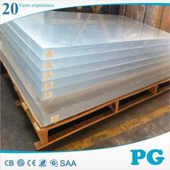 PG Imported 10mm Acrylic Sheet Factories in China