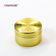 CB Grinder gold color 4 parts weed herb tobacco grinder 40mm 50mm 55mm 63mm