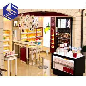 fashion store window display furniture for cosmetic store