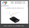 3 x AA Battery Holder Box, Without Cover with high quality