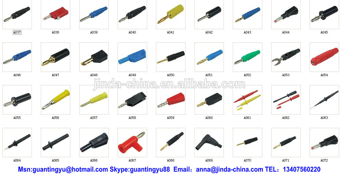 4mm Shorting Banana Plug Short Circuit Plug View Shorting