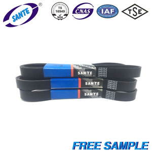 Factory oem auto rubber flour milling machine belt ribbed v belt cummins 8pk1665 3911561