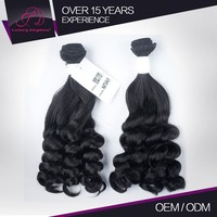 Fashion Style Authentic Russian Fumi Hair Bouncy Curls