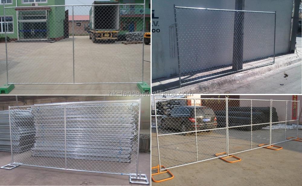 מעולה אתר הבנייה ניידת לוח גדר, במהירות להתקין גדר רשת זמנית, מחיר זול RX-98