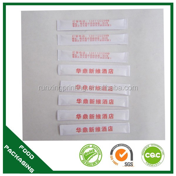 custom printed logo design disposable  toothpick