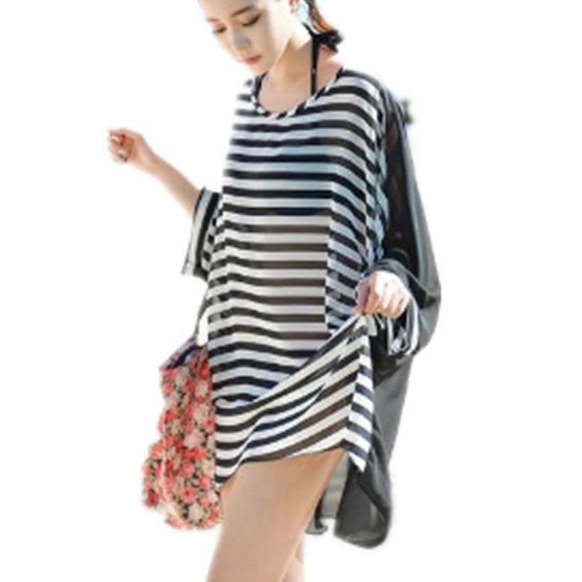 640a1c90d95 Get Quotations · 2015 Summer Lady Women Beach Wear Swimsuit Cover-Ups Sexy  bikini Chiffon Beach Cover Up