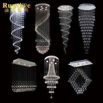 Zhongshan factory outlet modern luxury large hotel long crystal zhongshan factory outlet modern luxury large hotel long crystal chandelier aloadofball Choice Image