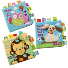 Hot product 16*16cm intelligence toy Cloth baby book