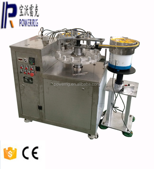 Mini bottle cosmetic glue filling capping machine