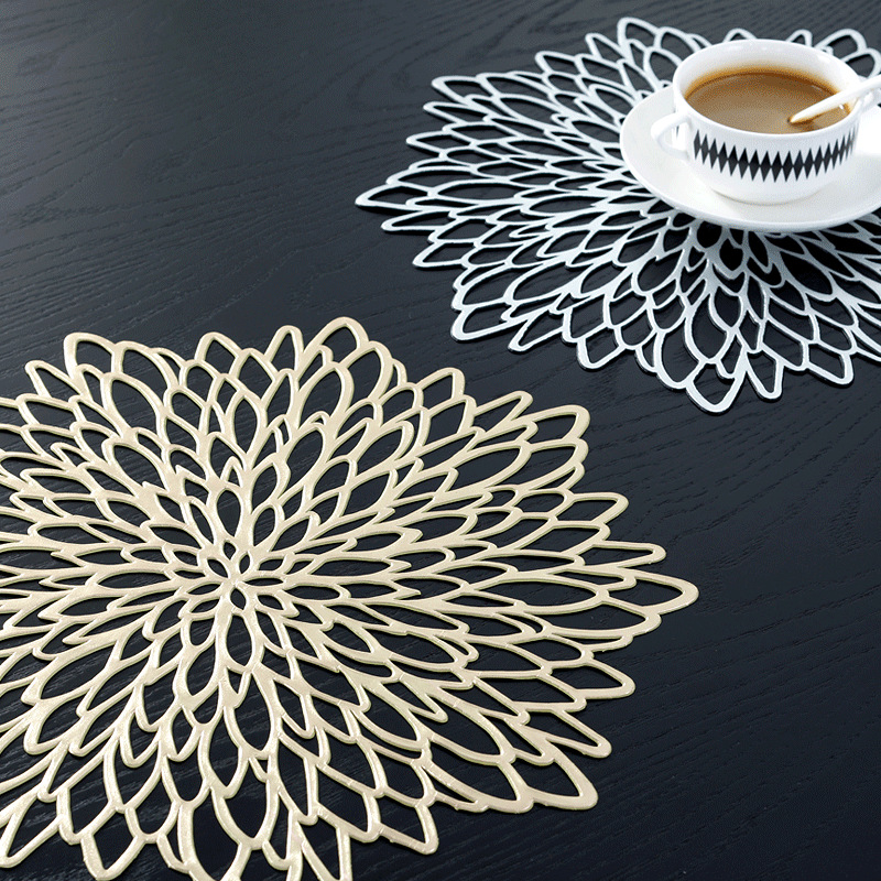 Vòng pvc hollow placemats